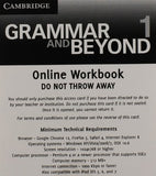 Grammar and Beyond Level 1 Student's Book and Online Workbook Pack