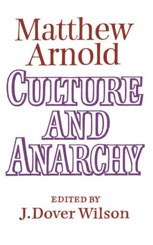Culture and Anarchy: Landmarks in the History of Education
