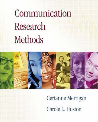 Communication Research Methods (with InfoTrac )