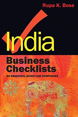India Business Checklists: An Essential Guide to Doing Business