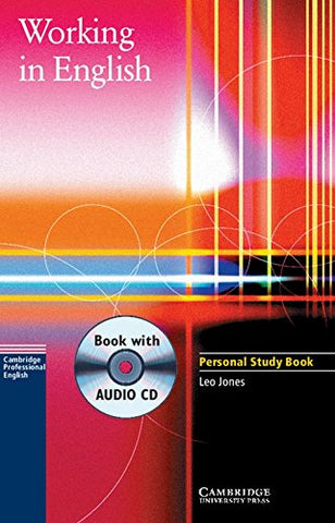 Working in English Personal Study Book with Audio CD (Cambridge Professional English)