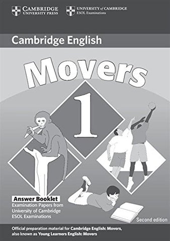 Cambridge Young Learners English Tests Movers 1 Answer Booklet: Examination Papers from the University of Cambridge ESOL Examinations