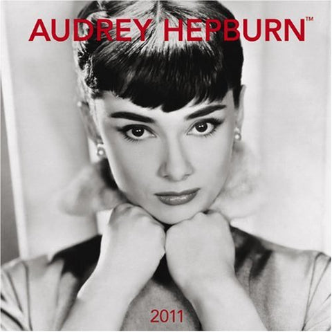 Audrey Hepburn 2011 FACES Square 12X12 Wall