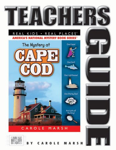 The Mystery at Cape Cod Teacher's Guide (35) (Real Kids Real Places)