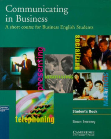 Communicating in Business: A Short Course for Business English Students, American English Edition