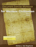 Document Exercise Workbook for Western Civilization, Volume II