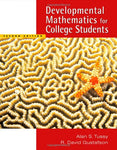 Developmental Mathematics for College Students (with CD-ROM and Enhanced iLrn Tutorial, iLrn Math Tutorial, The Learning Equation Labs, Student ... (Available 2010 Titles Enhanced Web Assign)