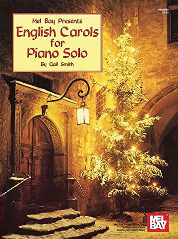 Mel Bay English Carols for Piano Solo