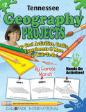 Tennessee Geography Projects - 30 Cool Activities, Crafts, Experiments and More for Kids to Do to Learn About Your State! (2) (Tennessee Experience)