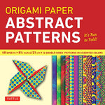 Origami Paper - Abstract Patterns - 8 1/4 - 48 Sheets: Tuttle Origami Paper: High-Quality Large Origami Sheets Printed with 12 Different Designs: Instructions for 6 Projects Included