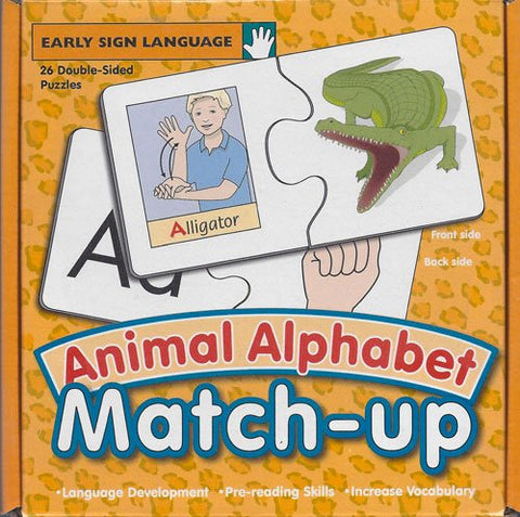 Animal Alphabet  Match-Up (Puzzle)