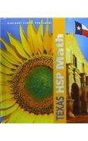 Harcourt School Publishers Math Texas: Student Edition Grade 4 2009