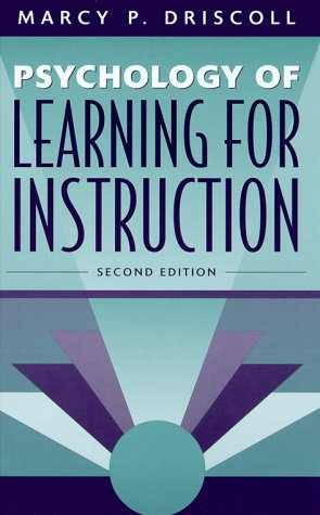 Psychology Of Learning For Instruction (2Nd Edition)