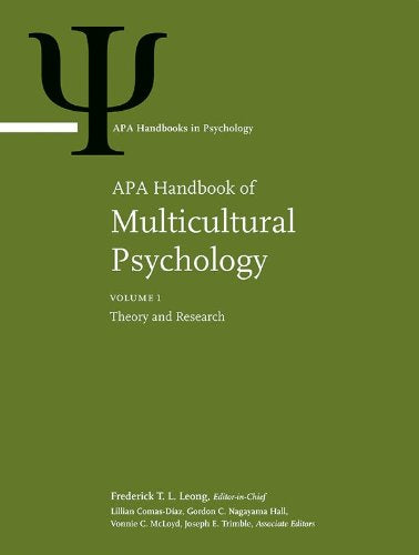 APA Handbook of Multicultural Psychology (Apa Handbooks in Psychology)