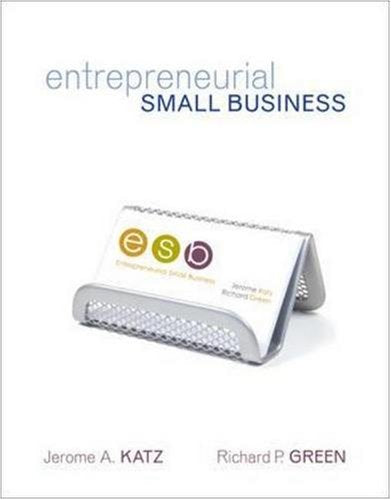 Entrepreneurial Small Business with Online Learning Center PowerWeb Card