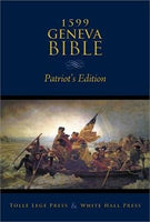 1599 Geneva Bible, Patriot Edition