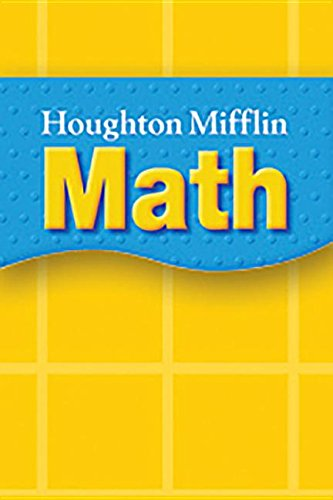 Houghton Mifflin Mathmatics: Reader Multiplying a Good Deed