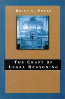 The Craft Of Legal Reasoning