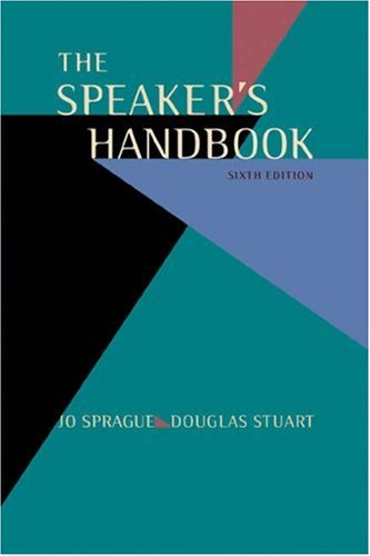 The Speakers Handbook (with InfoTrac and Speechmaker CD-ROM)