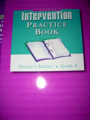 Intervention: Teacher's Guide, Grade 4 (Trophies)