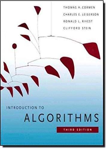 Introduction To Algorithms, Third Edition (International Edition)