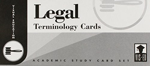 Legal Terminology Cards