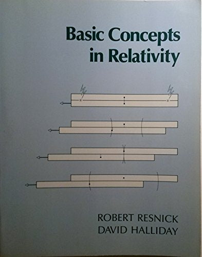 Basic Concepts in Relativity