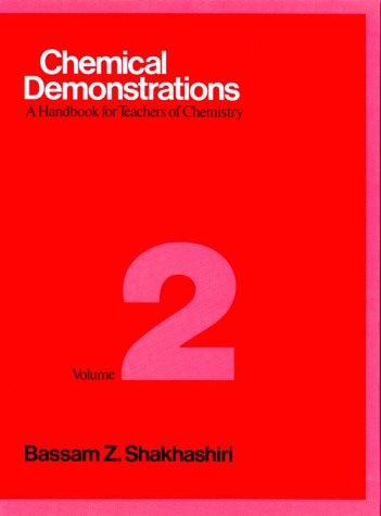 Chemical Demonstrations : A Handbook For Teachers Of Chemistry Vol 2