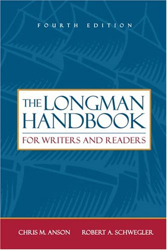 Longman Handbook for Writers and Readers, The (4th Edition)