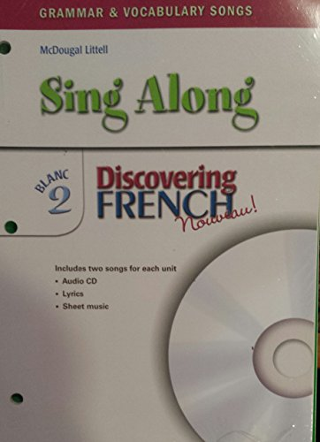 Discovering French, Nouveau!: Sing-Along Grammar & Vocabulary CD with Booklet Level 2