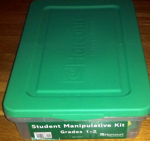 Harcourt School Publishers Math: Student Manipulative Kit Grades 1-2