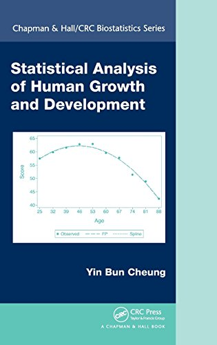 Statistical Analysis of Human Growth and Development (Chapman & Hall/CRC Biostatistics Series)