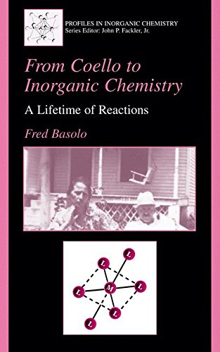 From Coello To Inorganic Chemistry: A Lifetime Of Reactions (Profiles In Inorganic Chemistry)