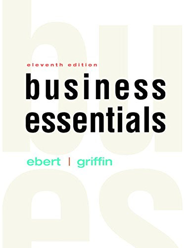 Business Essentials (11Th Edition)
