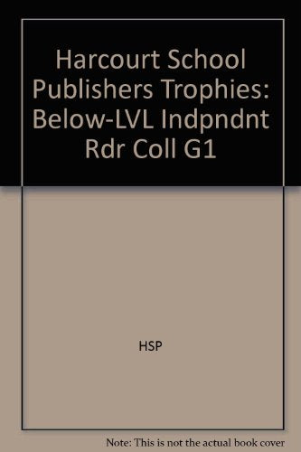 Trophies: Below-Leveled Book Collection (34 titles) Grade 1