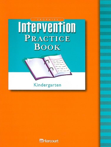 Trophies: Intervention Practice Book Grade K