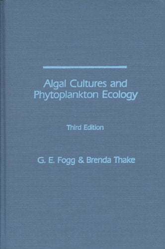 Algal Cultures, 3rd Edition