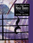 Basic Materials In Music Theory: A Programmed Course, 10Th Edition (Book Only)
