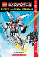 Exo-force Chapter Book #1: Escape from Sentai Mountain (Lego)