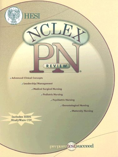 NCLEX-PN Review Book with STUDYware CD-ROM, 1e