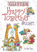 Glitter Happy Together Stickers (Dover Little Activity Books Stickers)