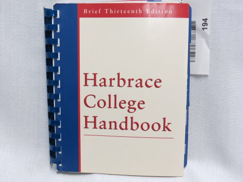 HARBRACE HANDBOOK,BRIEF 13ED