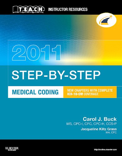 TEACH Instructor Resources (TIR) Manual for Step-by-Step Medical Coding 2011 Edition