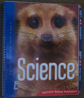 Harcourt Science: Teacher Edition Volume 2 Grade 3 2006