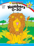 Numbers 0-30, Grades K - 1: Gold Star Edition (Home Workbooks)