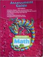 Harcourt Math: Assessment Guide, Grade 6