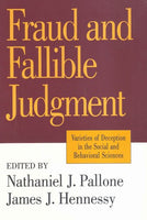 Fraud and Fallible Judgement: Deception in the Social and Behavioural Sciences (Archaeology)