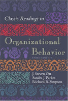 Classic Readings in Organizational Behavior 3rd Edition