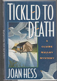 Tickled to Death (Claire Malloy Mysteries, No. 9)