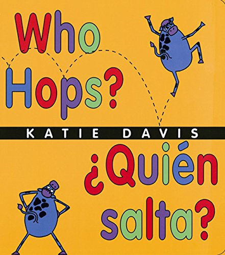 Who Hops?/Quien Salta?: Lap-Sized Board Book